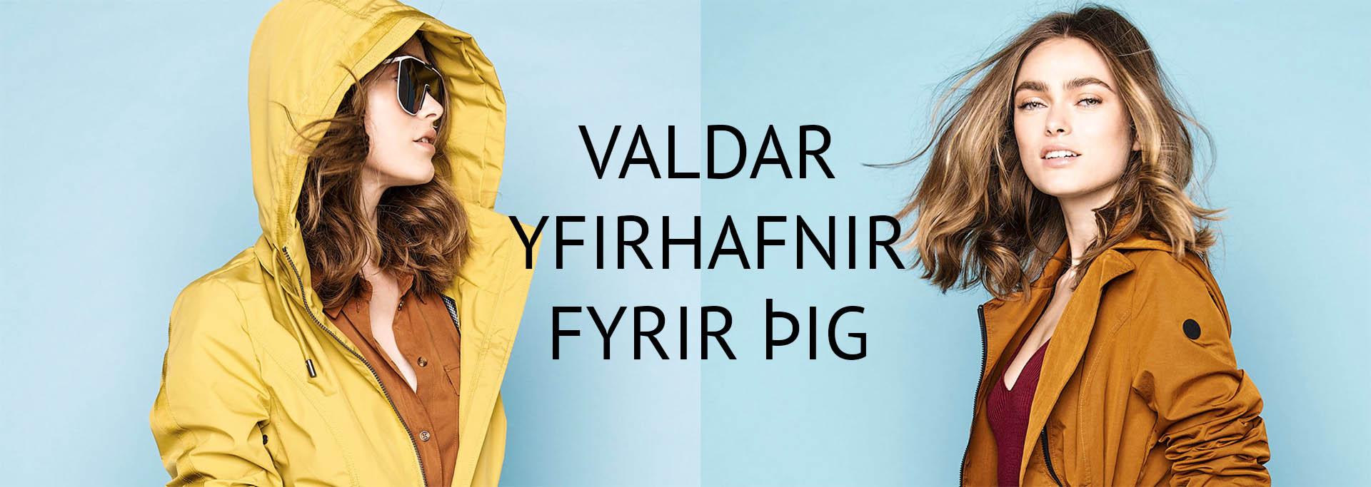 Þú færð yfirhöfnina allt árið í laxdal.is
